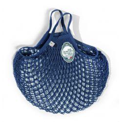 Borsa a rete Blu in cotone biologico by Filt