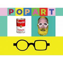 Pop Art Jim Flex Reading Glass by Aptica