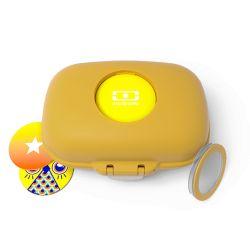 MB Gram giallo Moutarde scatola porta merenda ecosostenibile by Monbento