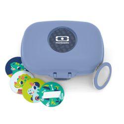 MB Gram blu Infinity scatola porta merenda ecosostenibile by Monbento