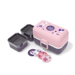 Monbento MB Tresor graphic Bunny lunchbox porta pranzo per bambini