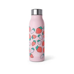 MB Genius graphic Strawberry intelligent isothermal bottle of Monbento