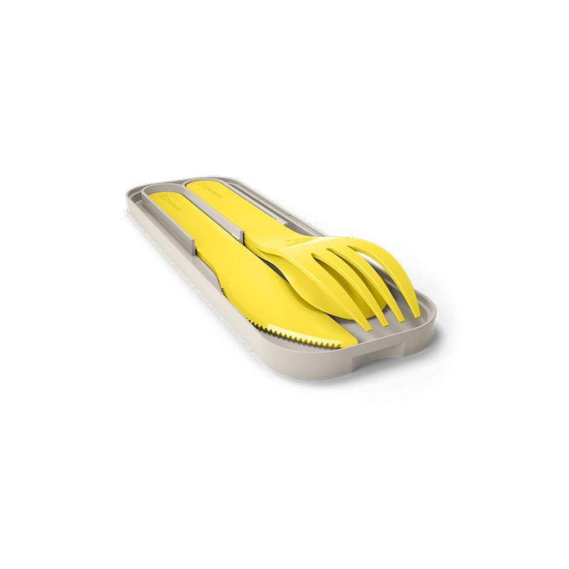 MB Pocket color giallo Lemon posate portatili biodegradabili di Monbento