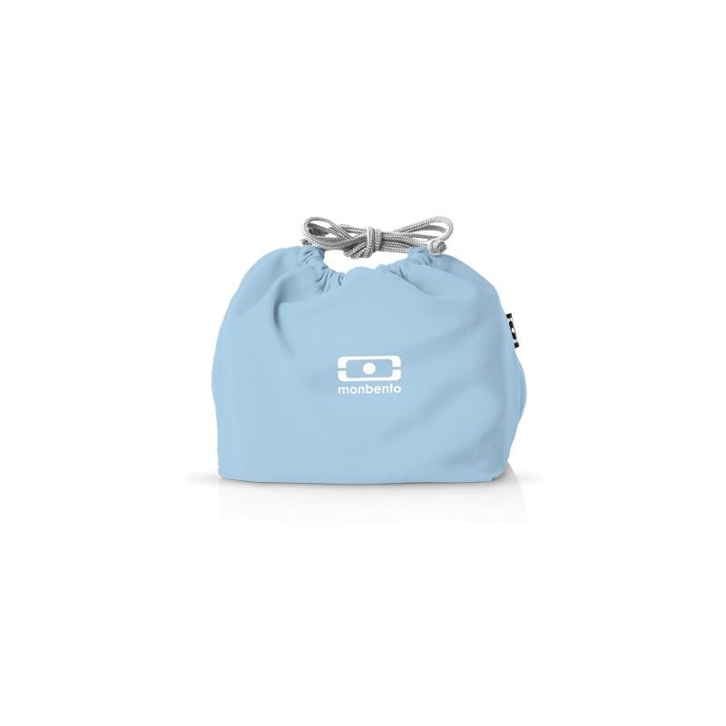 MB Pochette blu Crystal borsa custodia porta lunchbox di Monbento