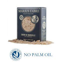 Sapone di Marsiglia puro in Scaglie 750 gr Nature di Marius Fabre