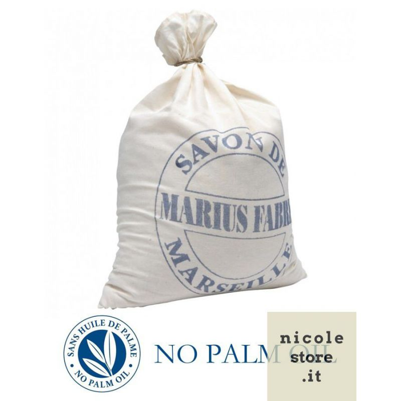 Sapone di Marsiglia puro in Scaglie 5 Kg Nature di Marius Fabre