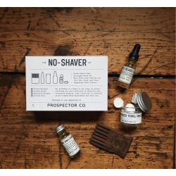 The NO-SHAVER kit by Prospector Co.