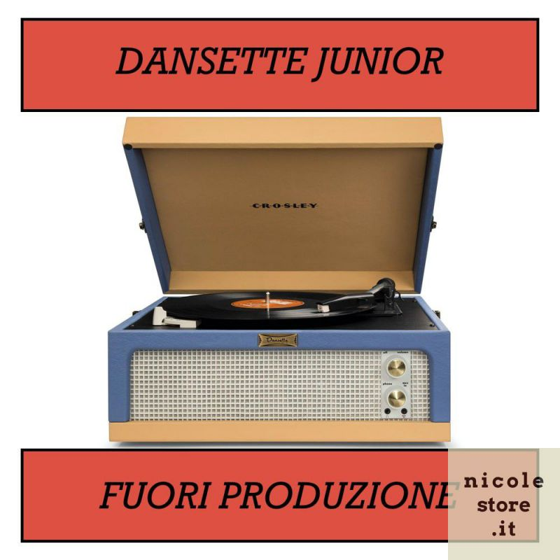 Giradischi Dansette Junior by Crosley