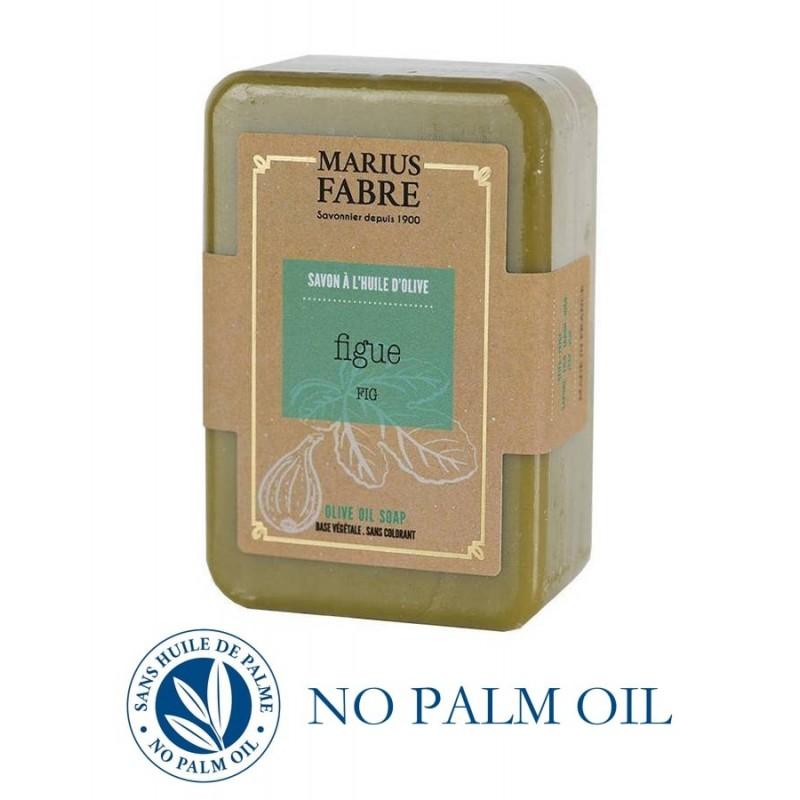Marseille Fig perfumed pure olive oil soap (250gr) Le Bien-être by Marius Fabre