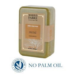 Marseille sandalwood perfumed pure olive oil soap (250gr) Le Bien-être by Marius Fabre