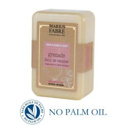Cherry Blossom & Pomegranate perfumed pure Karité Butter oil soap (250gr) Le Bien-être by Marius Fabre