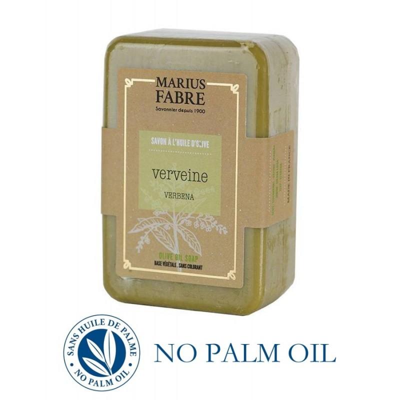Marseille Verbena perfumed pure olive oil soap (250gr) Le Bien Etre by Marius Fabre