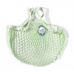 Organic Cotton Elixir net / mesh Hand Shopping Bag by Filt