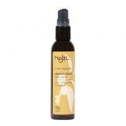 Organic Sweet Almond Oil 80ml - Huile d'Amande douce - Najel