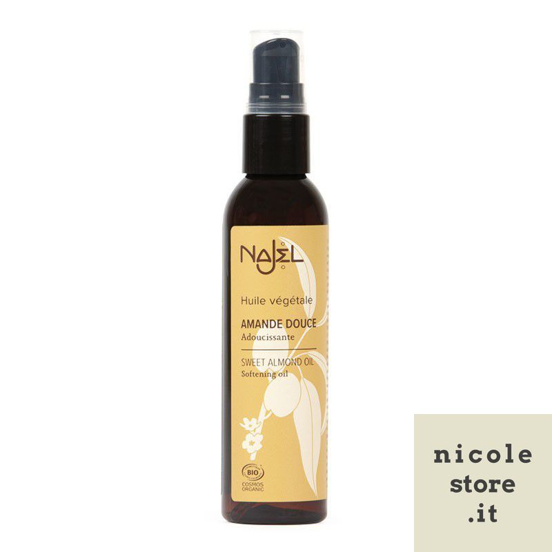 Organic Sweet Almond Oil 80ml - Huile d'Amande douce - Najel