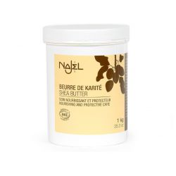 Organic Shea Butter 1 Kg - Beurre de karité brut- Najel