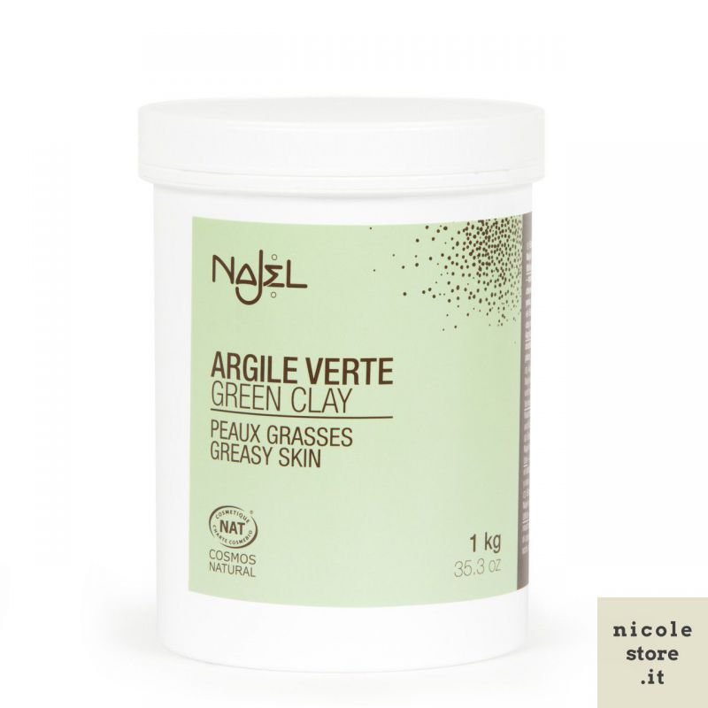 Argilla verde 1 kg - Argile verte - Najel