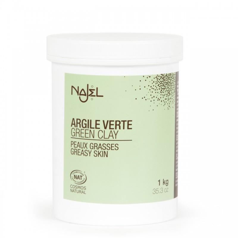 Green clay 1 kg - Argile verte - Najel