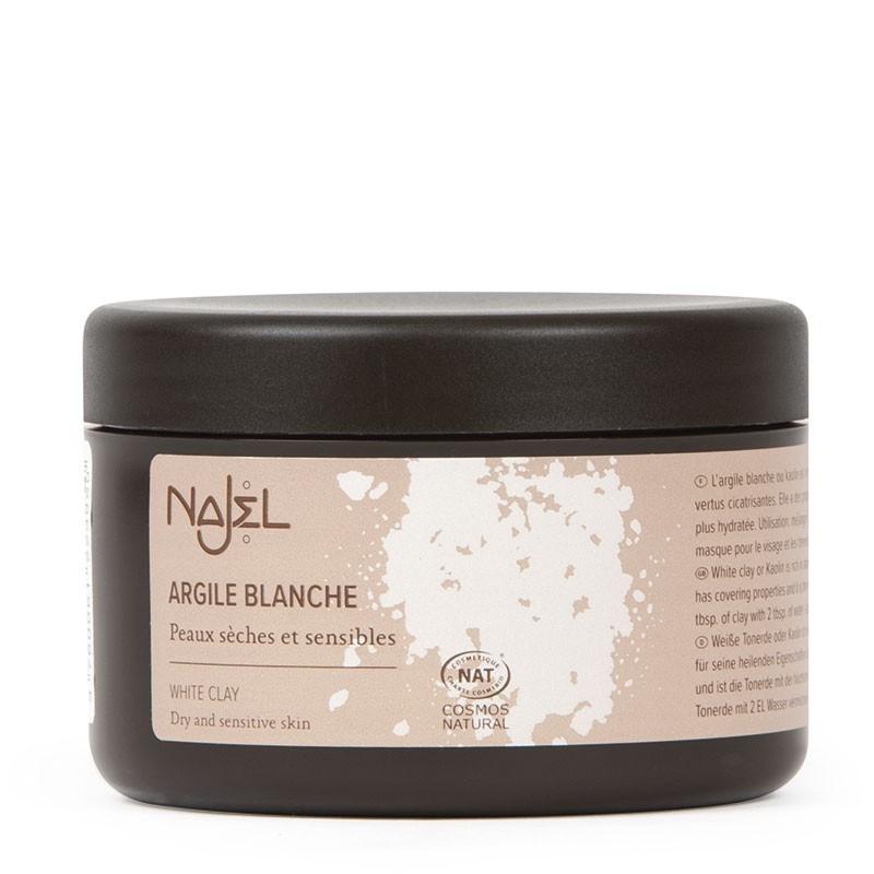 White clay 90 g - Argile blanche - Najel