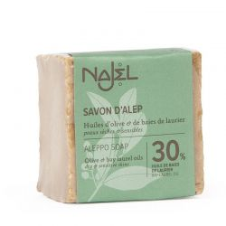 Aleppo Soap 30% Laurel Berry Oil 185 gr - Savon d'Alep 30% HBL - Najel