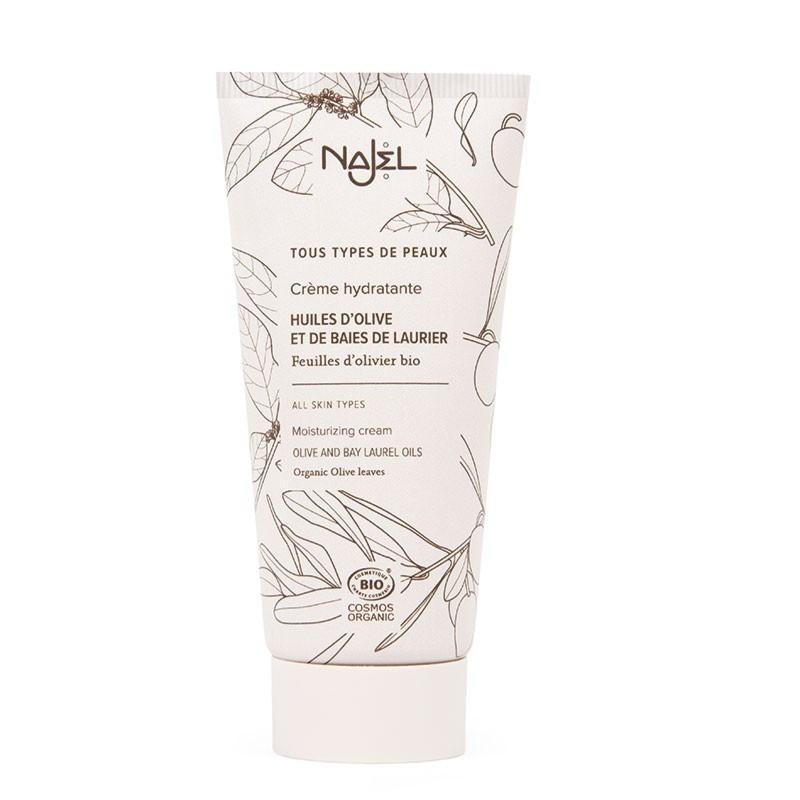 Crema viso idratazione intensa biologica 50 ml - Crème hydratation intense - Najel