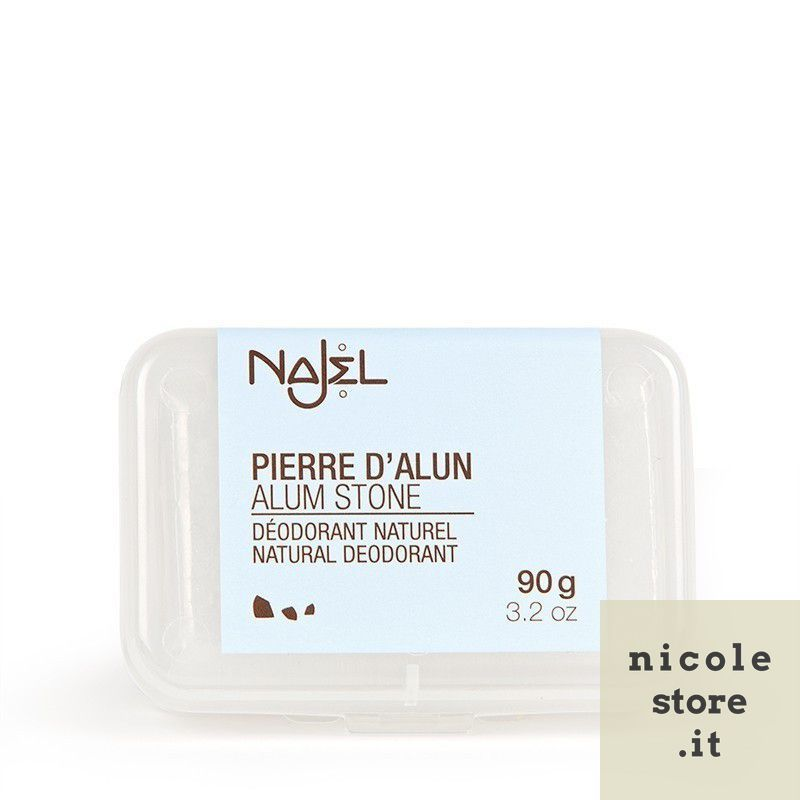Rock alum 90 g with case - Pierre d'alun - Najel