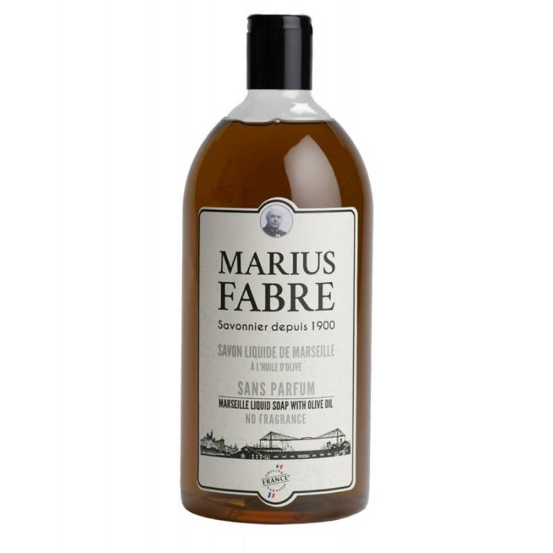 Sapone liquido di Marsiglia neutro 1L 1900 by Marius Fabre