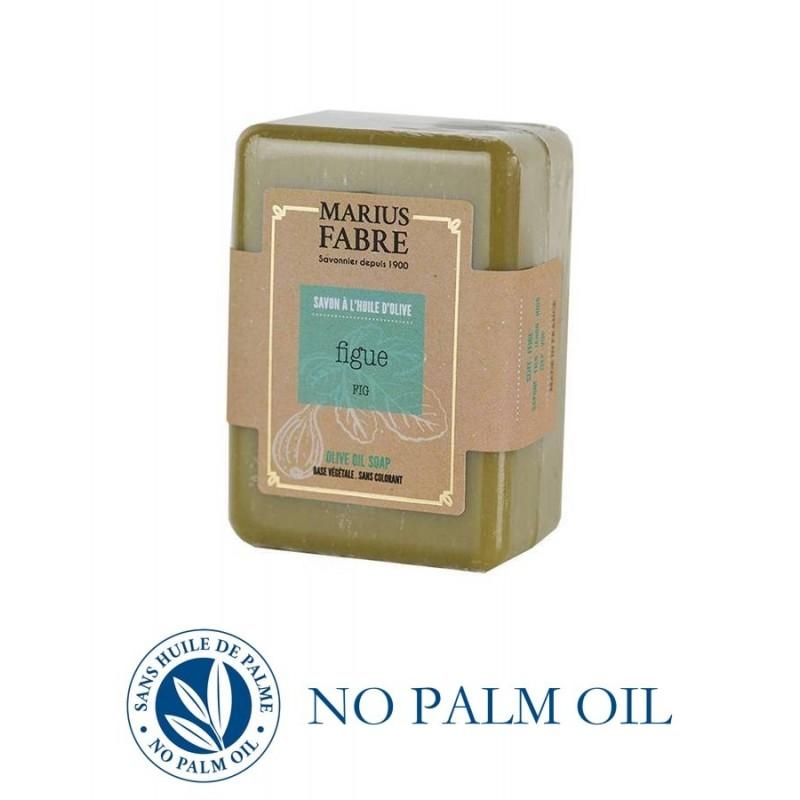 Sapone puro di Marsiglia al fico saponetta 150 g all'olio d'oliva Le Bien-être di Marius Fabre
