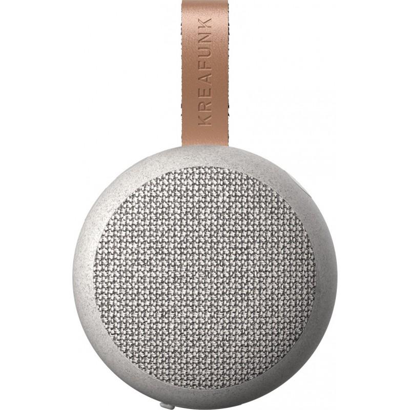 Kreafunk aGo Care mini altoparlante wireless in fibra di frumento con microfono di Kreafunk