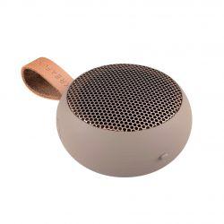 Kreafunk aGo Ivory Sand mini wireless speaker with microphone by Kreafunk