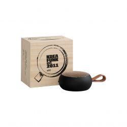 Kreafunk aGo Black mini altoparlante wireless nero con microfono di Kreafunk