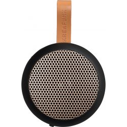 Kreafunk aGo Black mini wireless speaker with microphone by Kreafunk