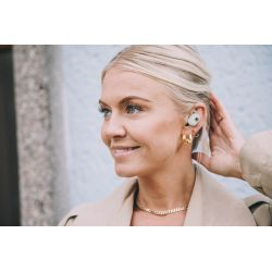 Kreafunk aBean Care wheat fiber wireless earbuds with charging case from Kreafunk