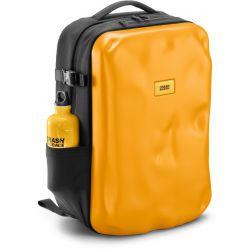 ICONIC yellow - material semi-rigid backpack - Crash Baggage
