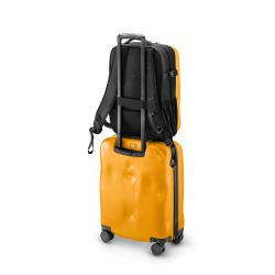 ICONIC yellow - zaino semi rigido in materiale  - Crash Baggage
