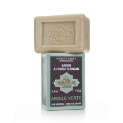 Argan Oil based soap with green clay by Marius Fabre