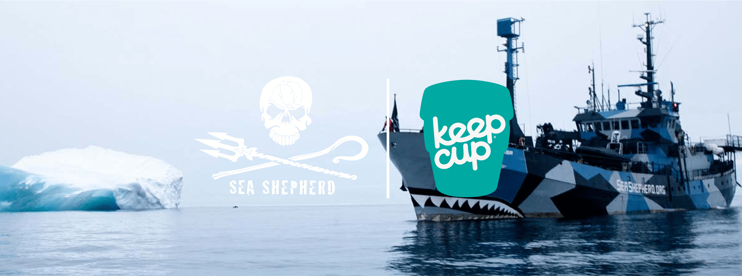 keepcup x sea shepherd original tazza eco sostenibile by keepcup nicole design store. Black Bedroom Furniture Sets. Home Design Ideas