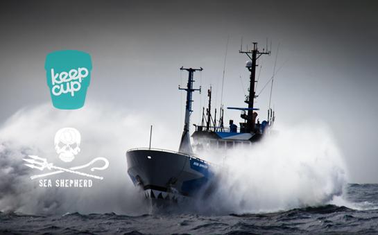KeepCup x Sea Shepherd Series - Collezione di Tazze Ufficiali Sea Shepherd Eco Sostenibili - Nicole è rivenditore ufficiale KeepCup Italia