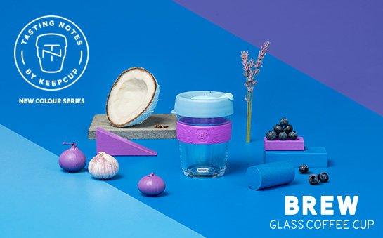 KeepCup Tasting Notes Brew - Collezione di Tazze in vetro Eco Sostenibili - Nicole è rivenditore ufficiale KeepCup Italia